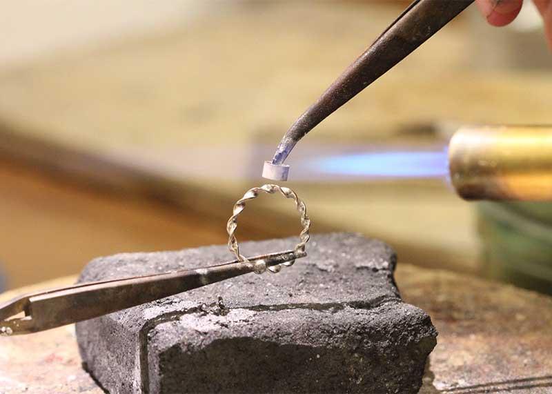 Workshop ring met edelsteen maken Twente